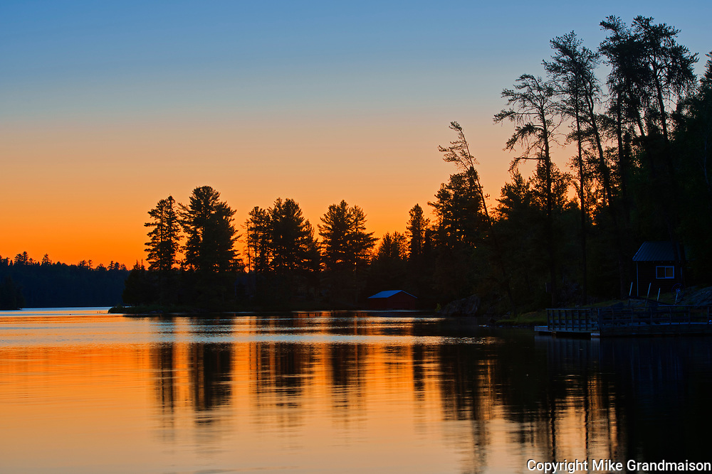 Dawn on Lake of The Woods<br />Nestor Falls<br />Ontario<br />Canada