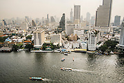 View of Chao Phraya River from Penninsula Bangkok