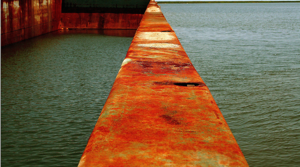 Sunken Barge, Intracoastal Waterway