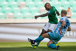 Mitch Apau of NK Olimpija Ljubljana during football match between NK Olimpija Ljubljana and ND Gorica in Round #29 of Prva liga Telekom Slovenije 2017/18, on April 29, 2018 in SRC Stozice, Ljubljana, Slovenia. Photo by Urban Urbanc / Sportida