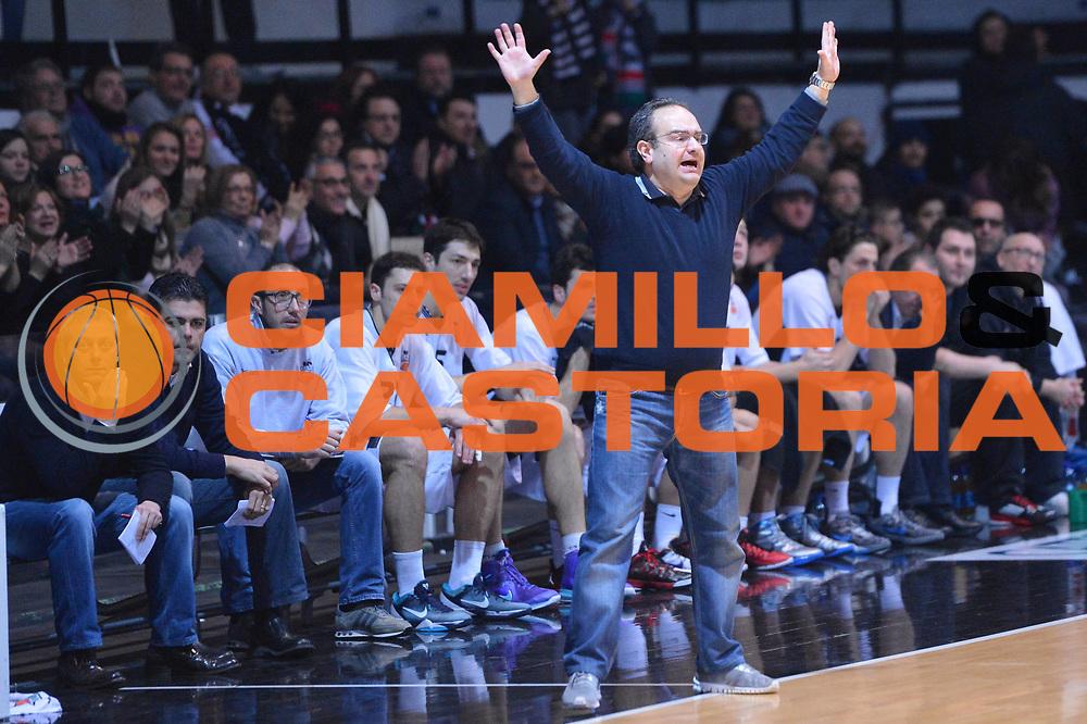 DESCRIZIONE : Caserta Lega A 2012-13 Juve Caserta Acea Roma<br /> GIOCATORE : Stefano Sacripanti<br /> CATEGORIA : delusione mani<br /> SQUADRA : Juve Caserta<br /> EVENTO : Campionato Lega A 2012-2013 <br /> GARA :  Juve Caserta Acea Roma<br /> DATA : 24/02/2013<br /> SPORT : Pallacanestro <br /> AUTORE : Agenzia Ciamillo-Castoria/GiulioCiamillo<br /> Galleria : Lega Basket A 2012-2013  <br /> Fotonotizia : Caserta Lega A 2012-13 Juve Caserta Acea Roma<br /> Predefinita :