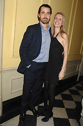 LOUIS & CHLOE BUCKWORTH at a leaving party for Poppy Delevigne who is going to New York to persue a career as an actress, held at Chloe, Cromwell Road, London on 25th January 2007.<br />