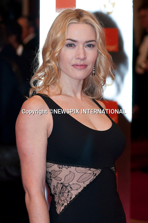"""Kate  Wnslet.at the Annual British Academy Film Awards, Royal Opera House, London_21st February, 2010..Mandatory Photo Credit: ©Dias/NEWSPIX INTERNATIONAL..**ALL FEES PAYABLE TO: """"NEWSPIX INTERNATIONAL""""**..PHOTO CREDIT MANDATORY!!: NEWSPIX INTERNATIONAL(Failure to credit will incur a surcharge of 100% of reproduction fees)..IMMEDIATE CONFIRMATION OF USAGE REQUIRED:.Newspix International, 31 Chinnery Hill, Bishop's Stortford, ENGLAND CM23 3PS.Tel:+441279 324672  ; Fax: +441279656877.Mobile:  0777568 1153.e-mail: info@newspixinternational.co.uk"""