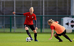 NEWPORT, WALES - Tuesday, November 6, 2018: Wales' captain Sophie Ingle during a training session at Dragon Park ahead of two games against Portugal. (Pic by Paul Greenwood/Propaganda)