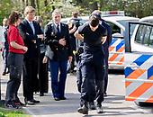 Koning Willem Alexander bezoekt politieacademie
