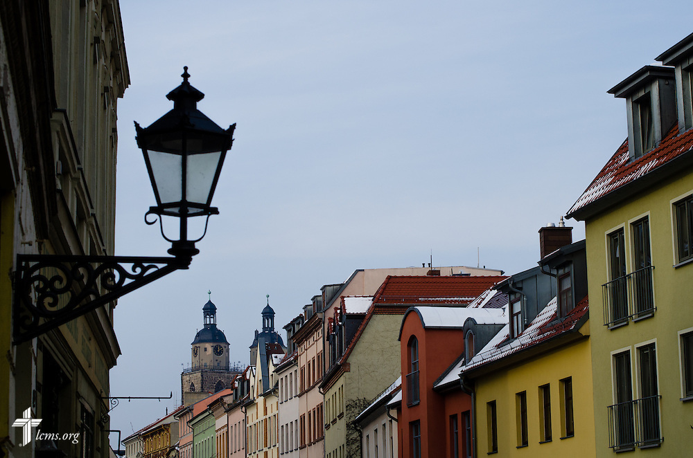 A view of the Stadtkirche on Thursday, Jan. 30, 2014, in Wittenberg, Germany. LCMS Communications/Erik M. Lunsford