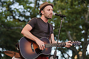 "Photos of the musician Mat Kearney performing live on the ""California 37 World Tour"" at Central Park SummerStage at Rumsey Playfield, NYC. August 27, 2012. Copyright © 2012 Matthew Eisman. All Rights Reserved."
