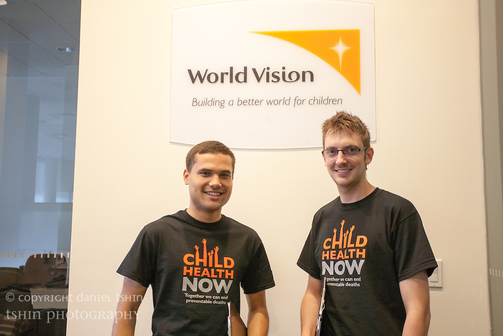 World Vision USA Team at the Global Citizen Festival, New York City, 29 September 2012