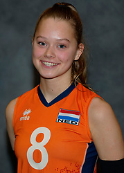 24-12-2019 NED: Photoshoot selection of Orange Youth Girls, Arnhem<br /> Orange Youth Girls 2019 - 2020 / Silke Bos #8