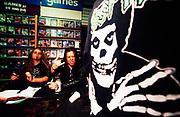 "Nu Metal ""Cradle Of Filth"" shop signing, UK, 2000s."