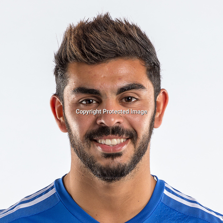 Jan 29, 2015; Montreal Impact player Victor Cabrera poses for a photo.