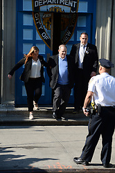 May 25, 2018 - New York, NY, USA - May 25, 2017 New York City..Harvey Weinstein leaves the First Precinct Police Station in handcuffs in Tribeca in New York City on May 25, 2017. (Credit Image: © Kristin Callahan/Ace Pictures via ZUMA Press)