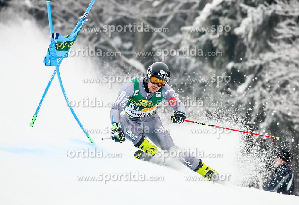 Greg Galeotti of France competes during 1st run of Men's GiantSlalom race of FIS Alpine Ski World Cup 57th Vitranc Cup 2018, on March 3, 2018 in Kranjska Gora, Slovenia. Photo by Ziga Zupan / Sportida