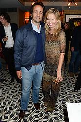 MATT & MARISSA HERMER at the Launch of Pont St Restaurant at Belgraves Hotel, 20 Chesham Place, London SW1 on 10th September 2013.