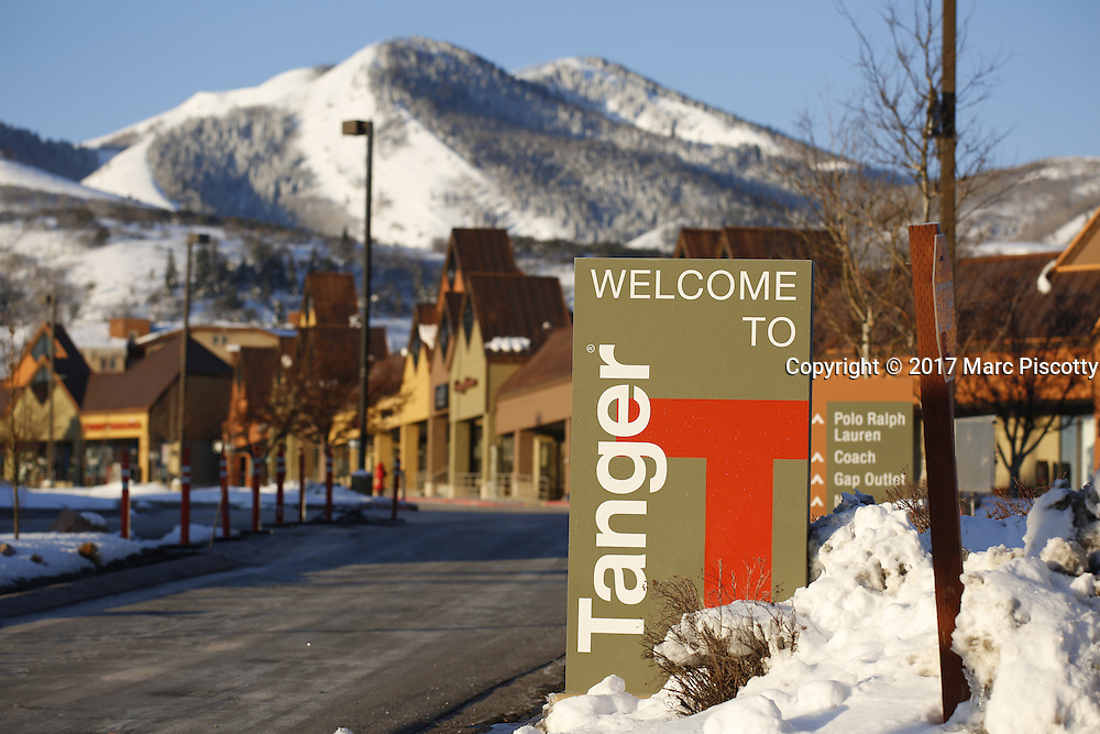 SHOT 3/2/17 8:20:01 AM - Park City, Utah lies east of Salt Lake City in the western state of Utah. Framed by the craggy Wasatch Range, it's bordered by the Deer Valley Resort and the huge Park City Mountain Resort, both known for their ski slopes. Utah Olympic Park, to the north, hosted the 2002 Winter Olympics and is now predominantly a training facility. In town, Main Street is lined with buildings built primarily during a 19th-century silver mining boom that have become numerous restaurants, bars and shops. (Photo by Marc Piscotty / © 2017)