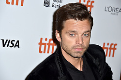 Sebastian Stan attends the Destroyer screening held at the Winter Garden Theatre during the Toronto International Film Festival in Toronto, Canada on September 10th, 2018. Photo by Lionel Hahn/ABACAPRESS.com