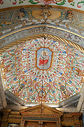 Interior of the Capela de Sao Miguel (Saint Michael's Chapel) of University of Coimbra, Portugal
