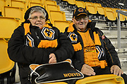Wolverhampton Wanderers fans and supporters during the EFL Sky Bet Championship match between Wolverhampton Wanderers and Fulham at Molineux, Wolverhampton, England on 3 November 2017. Photo by Alan Franklin.