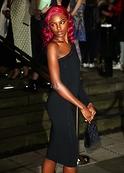 February 18, 2019 - London, United Kingdom - Leomie Anderson attends the Fabulous Fund Fair as part of London Fashion Week event. (Credit Image: © Brett Cove/SOPA Images via ZUMA Wire)