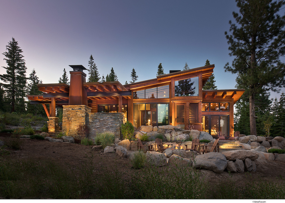 Residential Home 66 Martis Camp by Walton Architecture and Engineering, Truckee, Ca