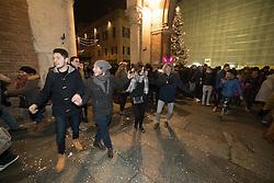 FESTEGGIAMENTI AL TERMINE DELL'INCENDIO DEL CASTELLO<br /> ULTIMO DELL'ANNO 2016