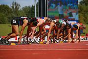 Heat 2 of the Women's 100m Hurdles during the Muller British Athletics Championships at Alexander Stadium, Birmingham, United Kingdom on 24 August 2019.