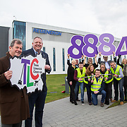 10.03.2017<br /> Representatives from biopharmaceutical company, Regeneron, were joined by TLC3 sponsor, JP McManus at a photocall to encourage other Limerick based companies to sign-up to the big clean-up which takes place on Good Friday, 14th April. Team Limerick Clean-up partners, Mr Binman, The Limerick Leader, Live 95FM, Limerick City &amp; County Council also attended.<br /> <br /> Pictured at the event were, JP McManus and Niall O&rsquo;Leary, VP &ndash; Site Head from Regeneron  with Patricia Liddy, Limerick City and County Council, Eugene Phelan, Limerick Leader, Helen O'Donnell, JP McManus Benevolent Fund, Joe Cleary, Mr. Binman, Geraldine O'Regan, Live95 FM, Noel Earlie, JP McManus Benevolent Fund and Regeneron staff, Pamela Kent, Jack Gallagher, Brendan Duggan, Sarah Collins and Ivor Downey. <br /> <br /> Over 8,000 volunteers have already registered to TLC3 and businesses from across Limerick are also being urged to get involved in the initiative. Picture: Alan Place