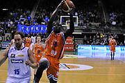 DESCRIZIONE : Treviso Lega due 2015-16  Universo Treviso De Longhi - Aurora Basket Jesi<br /> GIOCATORE : ousmane gueye<br /> CATEGORIA : Tiro<br /> SQUADRA : Universo Treviso De Longhi - Aurora Basket Jesi<br /> EVENTO : Campionato Lega A 2015-2016 <br /> GARA : Universo Treviso De Longhi - Aurora Basket Jesi<br /> DATA : 31/10/2015<br /> SPORT : Pallacanestro <br /> AUTORE : Agenzia Ciamillo-Castoria/M.Gregolin<br /> Galleria : Lega Basket A 2015-2016  <br /> Fotonotizia :  Treviso Lega due 2015-16  Universo Treviso De Longhi - Aurora Basket Jesi