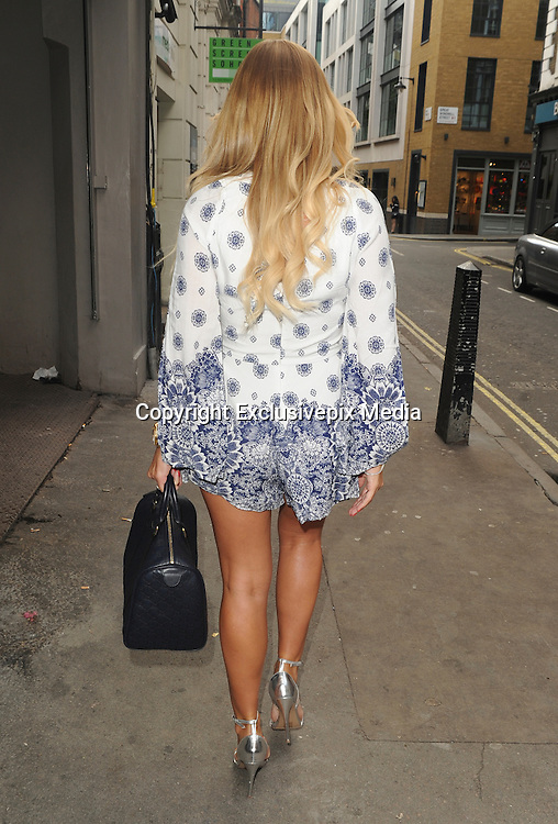 EXCLUSIVE<br /> Billie Faiers back for Dubai for her high summer In the Style collection in London<br /> &copy;Exclusivepix Media