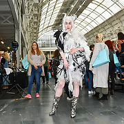 Model: Ceci Zhang at Tilt Professional by makeup artist Anna Cichon and Alex Vlcek demo at IMATS London on 18 May 2019,  London, UK.
