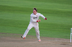Dom Bess of Somerset in action.  - Mandatory by-line: Alex Davidson/JMP - 22/09/2016 - CRICKET - Cooper Associates County Ground - Taunton, United Kingdom - Somerset v Nottinghamshire - Specsavers County Championship Division One
