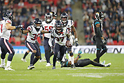 Houston Texans Defensive Back Jahleel Addae (37) during the International Series match between Jacksonville Jaguars and Houston Texans at Wembley Stadium, London, England on 3 November 2019.