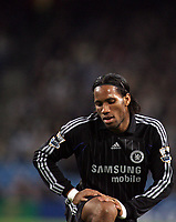 Photo: Paul Thomas.<br /> Manchester City v Chelsea. The Barclays Premiership. 14/03/2007.<br /> <br /> Didier Drogba of Chelsea.