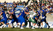 17 September 2016:  Action during a Men's Football game between the University of British Columbia Thunderbirds and the University of Regina Rams on Sidoo Field at Thunderbird Stadium, University of British Columbia, Vancouver, BC, Canada.  ****(Photo by Bob Frid/UBC Athletics  2016 All Rights Reserved****)