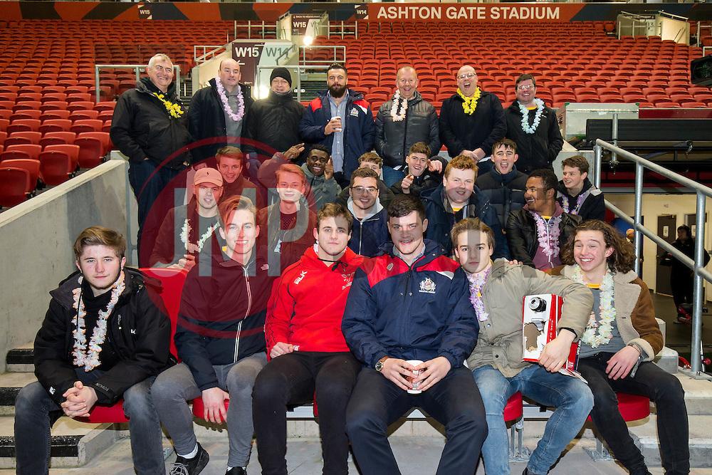 Meet the player - Rogan Thomson/JMP - 10/02/2017 - RUGBY UNION - Ashton Gate Stadium - Bristol, England - Bristol Rugby v Harlequins - Aviva Premiership.