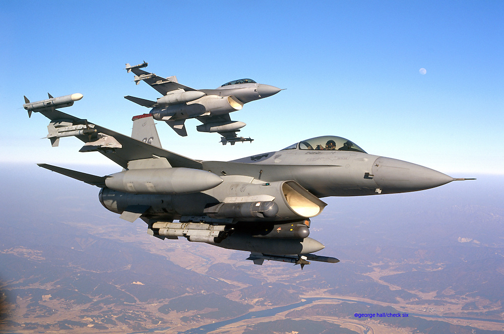F16C Falcon USAF in Korea