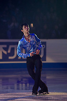 KELOWNA, BC - OCTOBER 24: Gold medalists Yuzuru Hanyu of Japan performs during the gala of Skate Canada International at Prospera Place on October 24, 2019 in Kelowna, Canada. (Photo by Marissa Baecker/Shoot the Breeze)