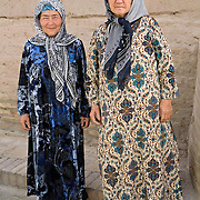 Tourists from Fergana Valley visiting Khiva
