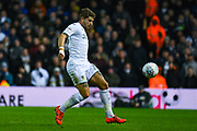 Leeds United defender Gaetano Berardi (28) during the EFL Sky Bet Championship match between Leeds United and Hull City at Elland Road, Leeds, England on 10 December 2019.