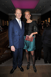 RUPERT TROTTER and COUNTESS ISABELLE TRAPP von MATSCH at a cocktail party and auction to launch the forthcoming celebrations for Mikhail Gorbachev's 80th birthday held at Christie's, 8 King Street, London on 3rd February 2011.