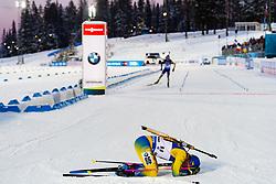 March 9, 2019 - –Stersund, Sweden - 190309 Jesper Nelin of Sweden looks dejected after the Men's 10 KM sprint during the IBU World Championships Biathlon on March 9, 2019 in Östersund..Photo: Petter Arvidson / BILDBYRÃ…N / kod PA / 92252 (Credit Image: © Petter Arvidson/Bildbyran via ZUMA Press)