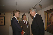 James Holland-Hibbert, Hugo Ferranti and Henry Wyndham, The opening  day of the Grosvenor House Art and Antiques Fair.  Grosvenor House. Park Lane. London. 14 June 2006. ONE TIME USE ONLY - DO NOT ARCHIVE  © Copyright Photograph by Dafydd Jones 66 Stockwell Park Rd. London SW9 0DA Tel 020 7733 0108 www.dafjones.com