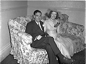 1952 Wedding of Mr. Tutty and Miss Keogh at Jury's Hotel