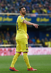 January 20, 2019 - Vila-Real, Castellon, Spain - Vicente Iborra of Villarreal during the La Liga Santander match between Villarreal and Athletic Club de Bilbao at La Ceramica Stadium on Jenuary 20, 2019 in Vila-real, Spain. (Credit Image: © AFP7 via ZUMA Wire)