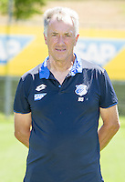 German Bundesliga - Season 2016/17 - Photocall 1899 Hoffenheim on 19 July 2016 in Zuzenhausen, Germany: Equipment manager Heinz Seyfert. Photo: APF | usage worldwide