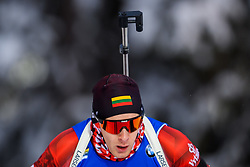 March 9, 2019 - –Stersund, Sweden - 190309 Tomas Kaukenas of Lithuania competes in the Men's 10 KM sprint during the IBU World Championships Biathlon on March 9, 2019 in Östersund..Photo: Petter Arvidson / BILDBYRÃ…N / kod PA / 92252 (Credit Image: © Petter Arvidson/Bildbyran via ZUMA Press)