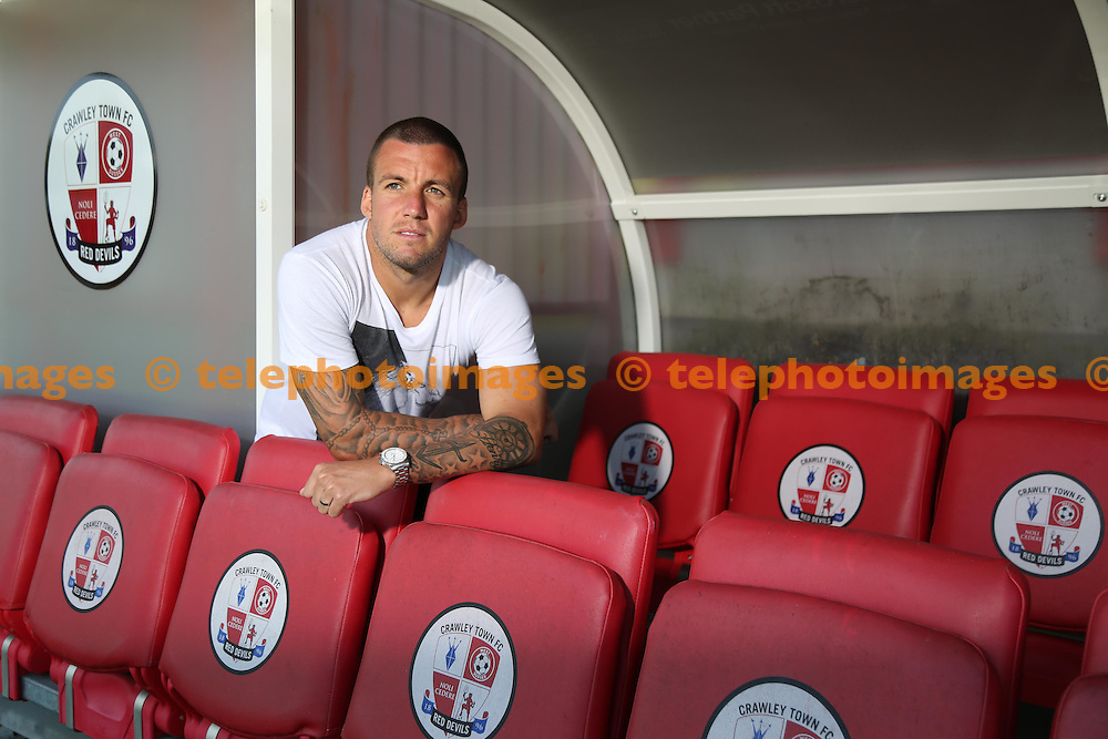 Crawley Town's Jimmy Smith<br /> James Boardman / TELEPHOTO IMAGES 07967642437