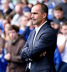 Everton Manager, Roberto Martinez  - Mandatory by-line: Matt McNulty/JMP - 02/08/2015 - SPORT - FOOTBALL - Liverpool,England - Goodison Park - Everton v Villareal - Pre-Season Friendly