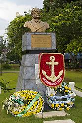 Statue of Miguel Grau, Panama City, Panama