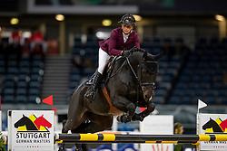 LEPREVOST Penelope (FRA), Quintair<br /> Stuttgart - German Masters 2018<br /> Eröffnungsspringen<br /> 15. November 2018<br /> © www.sportfotos-lafrentz.de/Stefan Lafrentz